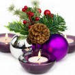 Beautiful Christmas Decoration - Stock Photo