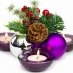 bela decoração de Natal — Foto Stock