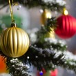 Beautiful christmas tree — Stock Photo #4239743