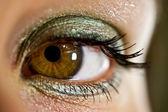 Güzel kadın göz — Stok fotoğraf