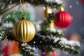 Beautiful christmas tree — Stock Photo