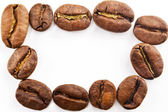 Coffee beans frame — Foto Stock