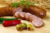 Polonês kielbasa — Foto Stock
