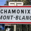 Chamonix — Stock Photo