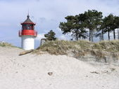 Vuurtoren op hiddensee — Stockfoto