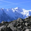 Mont-Blanc massif — Stock Photo