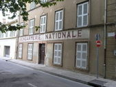 Gendarmerie Nationale Saint-Tropez — Стоковое фото