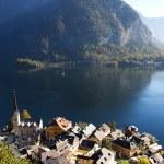 Beautiful Hallstatt in Austria — Stock Photo