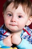 Close up child portrait — Stock Photo