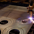 Plasma cutting - Foto de Stock  