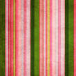 Vintage green and pink shabby colored striped background — Stock Photo