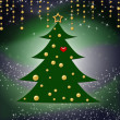 Christmas Tree Background — Foto Stock