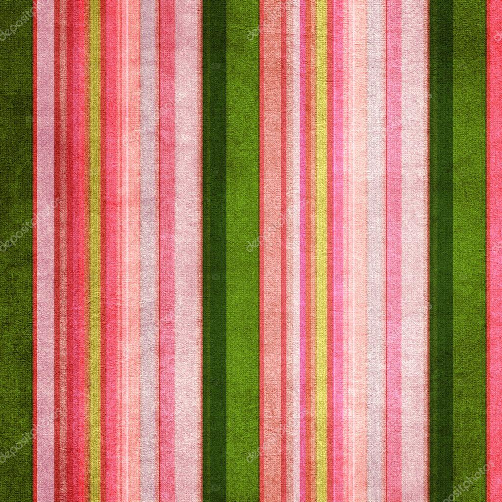 复古绿色和粉红色破旧彩色条纹的背景