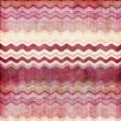 Pink, bordo and white  wavy stripes shabby background — Stock Photo