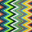 Vintage shabby colored striped background — Stock Photo