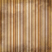 Vintage brown and yellow shabby colored striped background — Stock Photo
