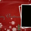Red Christmas / New Year illustration background / card — ストック写真 #4297519