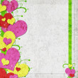 Foto Stock: Valentine background with hearts
