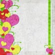 Stockfoto: Valentine background with hearts
