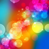 Beautiful abstract background of colors holiday lights — Stock Photo