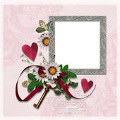 Wedding frame — Stock Photo