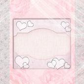 Wedding Album cover or card — Stock Photo