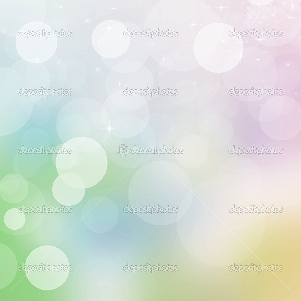 Rainbow defocused light background.  Stock Photo #4790739