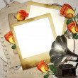 ricordi - vintage photoframe — Foto Stock #5026188