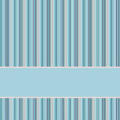 Blue and grey striped background with banner, variable with st — Stock Photo