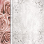 Wedding romantic background — Stock Photo