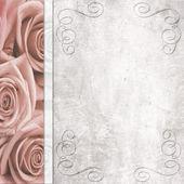 Wedding romantic background — Stock Photo