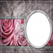 Stock Photo: Wedding frame for photo