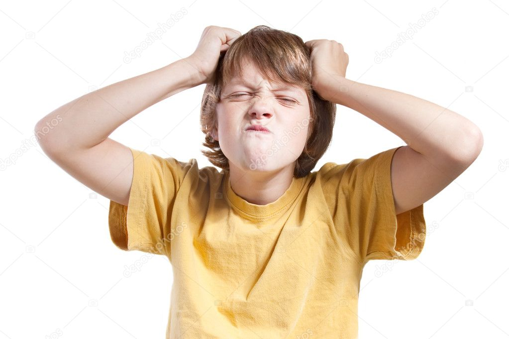Frustrated child — Stock Photo © smitea #4324984