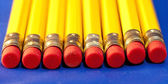 Line of pencils — Stock Photo