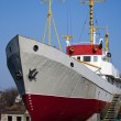 Ship with yellow masts — Stock fotografie #5181405
