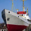 Ship with yellow masts — Stockfoto #5181405