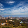 View on Vina del Mar and Valparaiso, Chile - Stock Photo