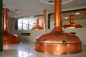 чешская пивоварня — Стоковое фото