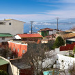 View from Pablo Neruda Muzeum in Valparaiso, Chile — Stock Photo