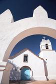 Kostel san pedro, národní památník, san pedro de atacama, chile — Stock fotografie