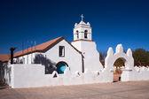 Igreja de san pedro, um monumento nacional, san pedro de atacama, chile — Fotografia Stock