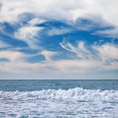 Deniz manzarası vina del mar, şili — Stok fotoğraf