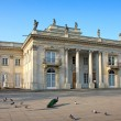 Palace on the Water in Warsaw — Stock Photo #4223081