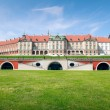Royal Castle in Warsaw - east side — Stock Photo