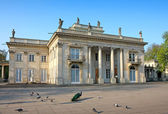 Palace on the Water in Warsaw — Stock Photo