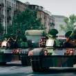 Stock Photo: Tanks in city