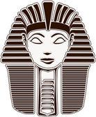 Sphinx Head - Pharaoh Hatshepsut Face — Stock Photo