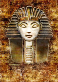 Sphinx Head - Hatshepsut — Stock Photo