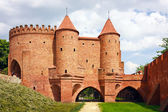Barbican - Fortified medieval outpost - Warsaw / Poland — Stock Photo
