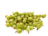A delicious gooseberry isolated on a white background — Stock Photo